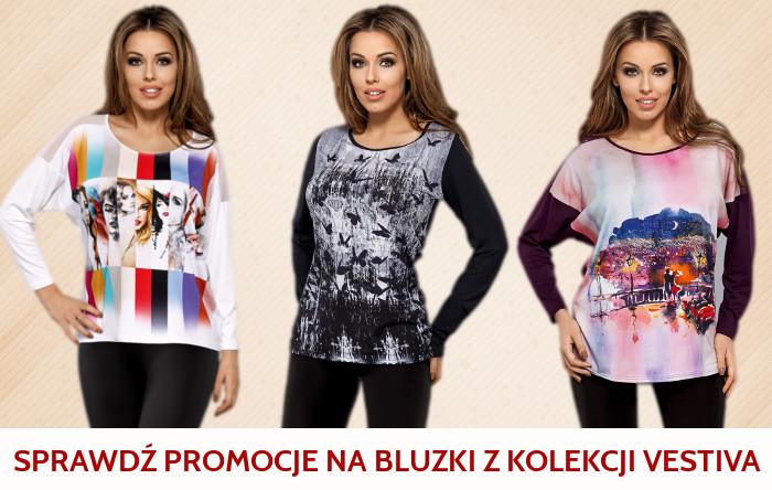 sprawdź promocję na bluzki z kolekcji vestiva